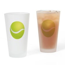 Tennis Drinking Glass