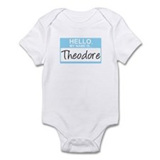 Hello, My Name is Theodore - Infant Bodysuit