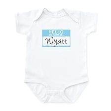 Hello, My Name is Wyatt - Onesie
