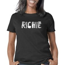 Obama App Dk Women's Plus Size V-Neck Dark T-Shirt