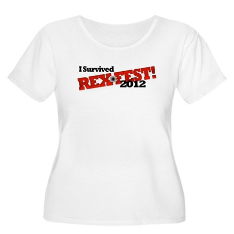 RexFest Women's Plus Size Scoop Neck T-Shirt
