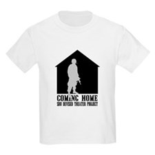 Coming Home White Front T-Shirt