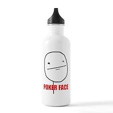 Poker Face Water Bottle