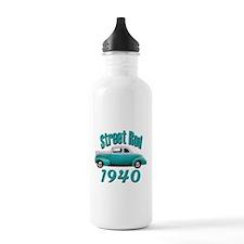 1940 Ford Hot Rod Jade Water Bottle