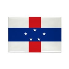 Netherlands Antilles Rectangle Magnet