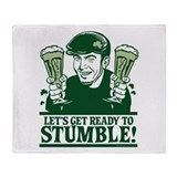 Ready To Stumble! Throw Blanket