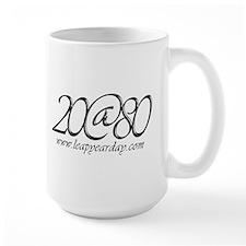 20 at Eighty! Mug