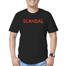 Scandal Men's Fitted T-Shirt (dark)