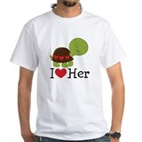I Heart Her Turtle Love Shirt
