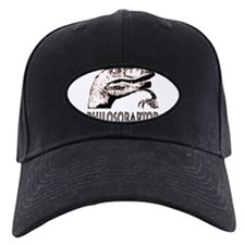 Philosoraptor Labeled Baseball Hat