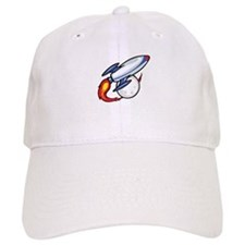 Rocket Ship Baseball Cap