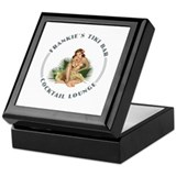 Frankie's Tiki Bar Hula Girl 1 Keepsake Box