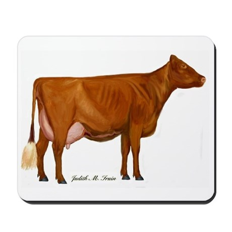 Shorthorn Cow Mousepad