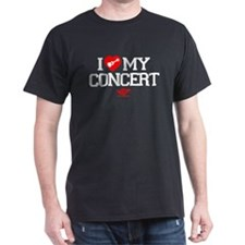 I Love My Concert Ukulele T-Shirt