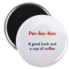 Perfection Book and Coffee Magnet