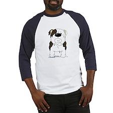 Big Nose Bulldog Baseball Jersey