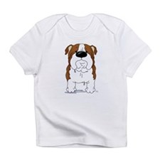Big Nose Bulldog Infant T-Shirt