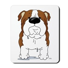 Big Nose Bulldog Mousepad