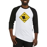 Canada Goose Crossing Sign Baseball Jersey