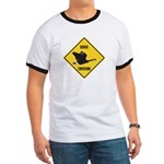 Canada Goose Crossing Sign Ringer T