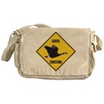 Canada Goose Crossing Sign Messenger Bag
