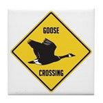 Canada Goose Crossing Sign Tile Coaster