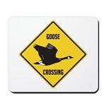 Canada Goose Crossing Sign Mousepad