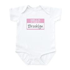 Hello, My Name is Brooklyn - Onesie