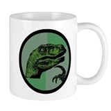 Philosoraptor Circle Mug
