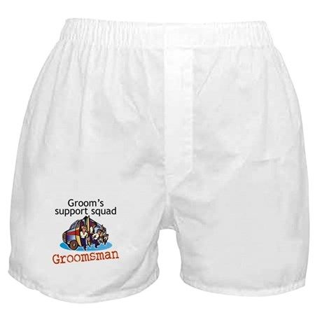 Groomsman Boxer Shorts