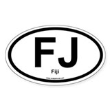FJ - Fiji Decal