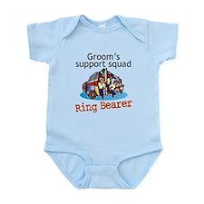 Grooms Squad Ring Bearer Infant Bodysuit