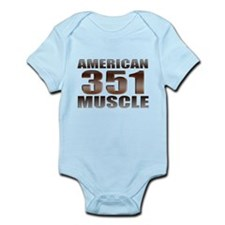 American Ford Muscle 350 Clev Infant Bodysuit