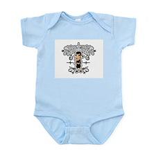 Cool Black Infant Bodysuit