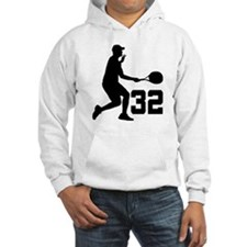 Tennis Uniform Number 32 Player Hoodie