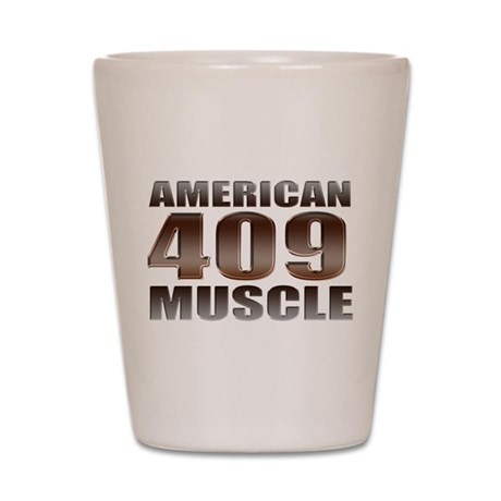 American Muscle 409 Super Spo Shot Glass