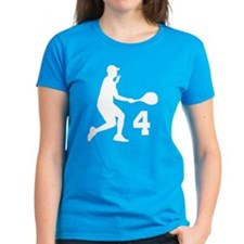 Tennis Uniform Number 4 Player Tee