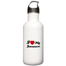 I love my javanese Sports Water Bottle