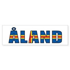 Åland Bumper Sticker