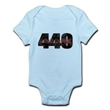 Unchain the monster Mopar 440 Infant Bodysuit