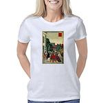 Blue Jay Crossing Sign Organic Toddler T-Shirt (da