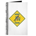 Blue Jay Crossing Sign Journal