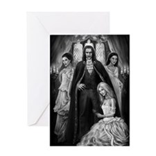 Brides of Dracula Greeting Card