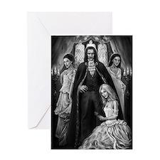 Brides of Dracula Greeting Card