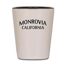 Monrovia California Shot Glass