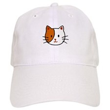 Calico Cat Cartoon Cap