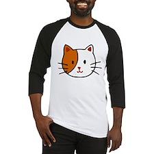 Calico Cat Cartoon Baseball Jersey