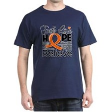 Faith Hope Kidney Cancer T-Shirt