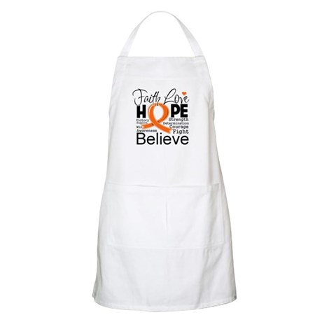 Faith Hope Kidney Cancer Apron