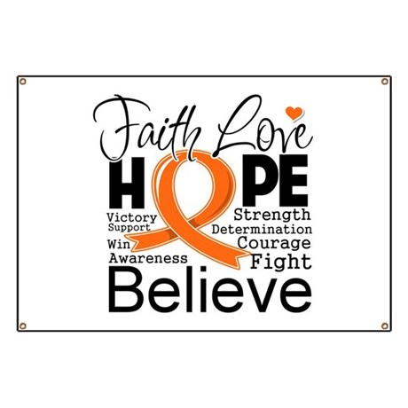 Faith Hope Kidney Cancer Banner
